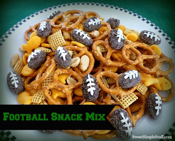 Football Snack Mix