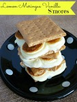 Lemon Meringue Vanilla S'mores
