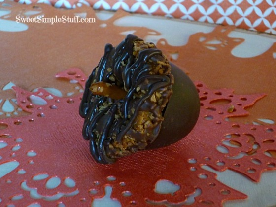 acorn samoa chocolate