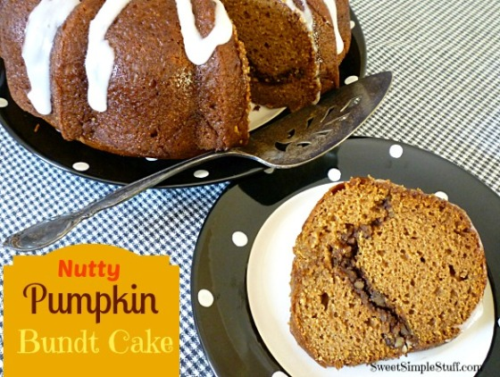 Nutty Pumpkin Bundt Cake