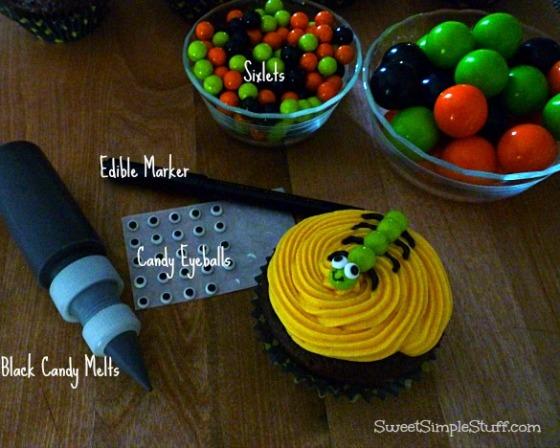 Creepy Crawly Cupcake Sixlets
