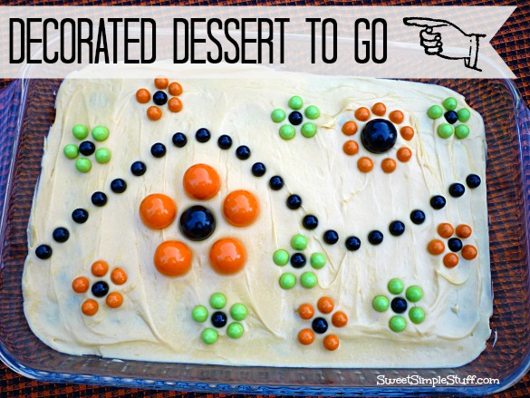 Decorated Dessert to go sixlets gumball