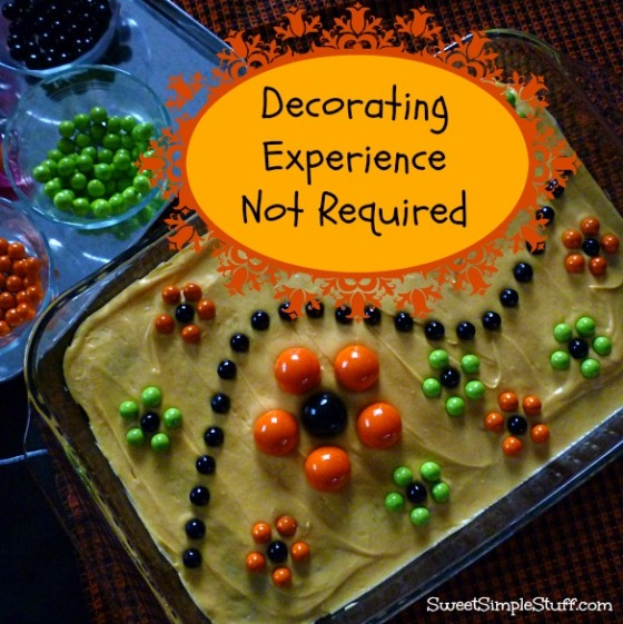 decorating experience not required