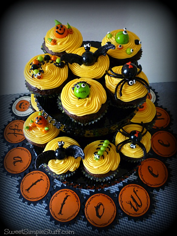 Halloween Cupcakes Cute And Not Too Scary Sweet