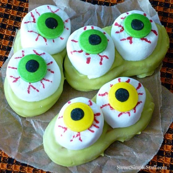 Nutter Butter Eyeballs
