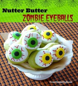 Nutter Butter Zombie Eyeballs