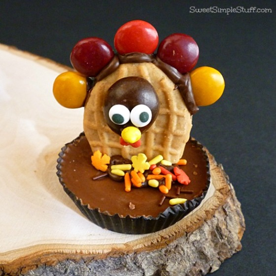 M&M's peanut butter chocolate turkey