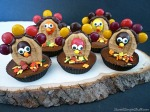 Nutter butter M&M's turkeys