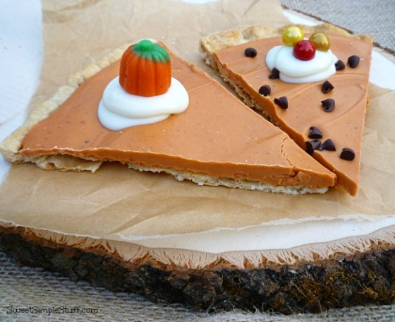 Pumpkin Pie Candy
