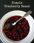 Simple Cranberry Sauce