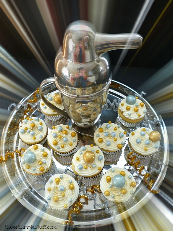 Bubbly Cocktail Cupcakes