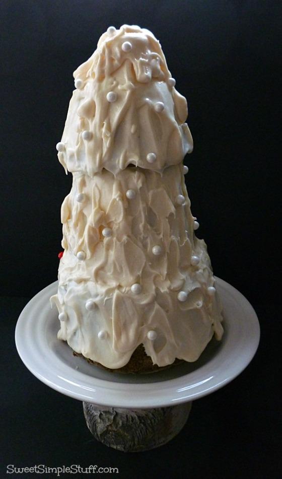 Christmas Tree Cake Wreck