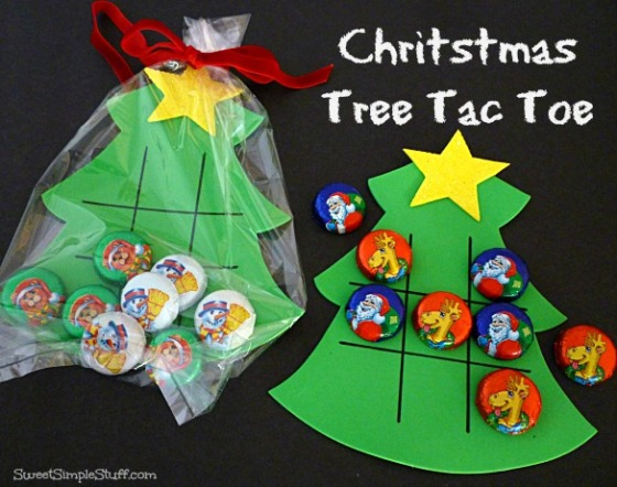Christmas Tree Tac Toe