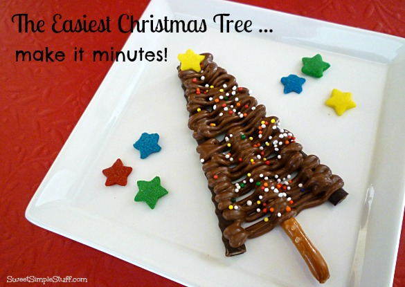 easiest christmas tree to make