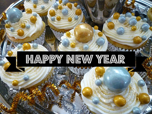 Happy New Year Cupcakes