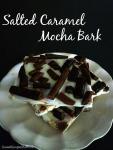 Salted caramel mocha bark
