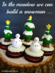 Snowman Christmas Tree Gumballs