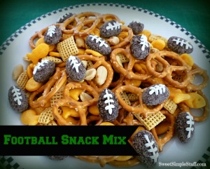 Football Snack Mix