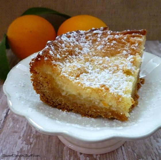 lemon chess cake