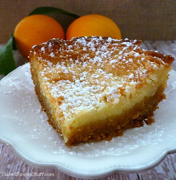 Lemon Ooey Gooey Butter Cake