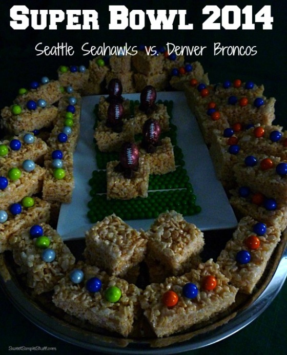 P1030577 Super Bowl 2014 Krispie Treats
