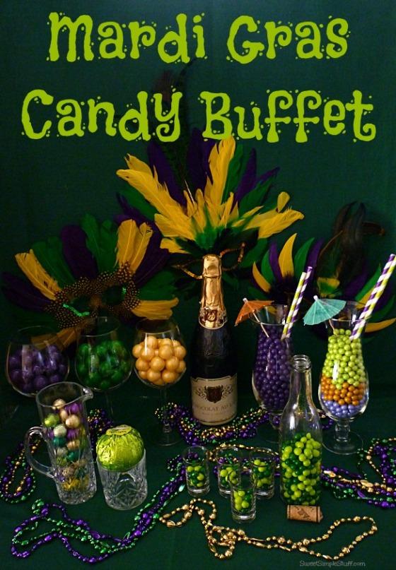 P1030666 Mardi Gras Candy Buffet