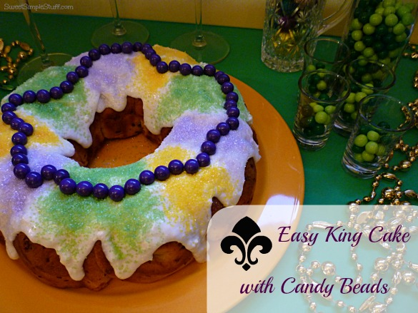 ... and just waiting to be used … perfect for decorating the King Cake