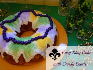 P1030684 Easy King Cake with Candy Beads