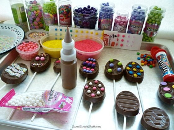 Chocolate Egg Pops
