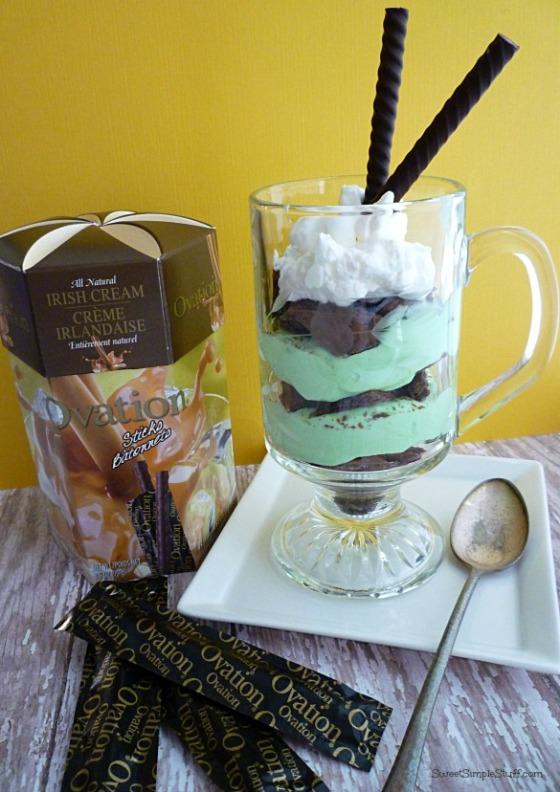 Irish Cream Ovation Parfait