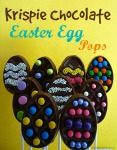 Krispie Chocolate Easter Egg Pops