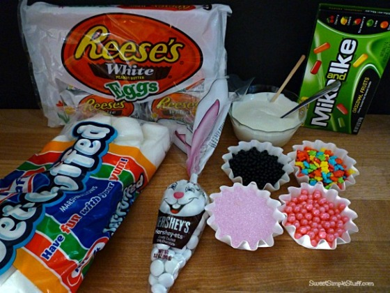 bunny marshmallow ears