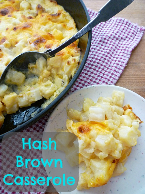 Cracker Barrel Hash Brown Casserole – the SweetSimpleStuff way