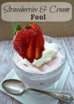 Strawberries & Cream Fool