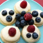 lemon berry sugar butter cookie