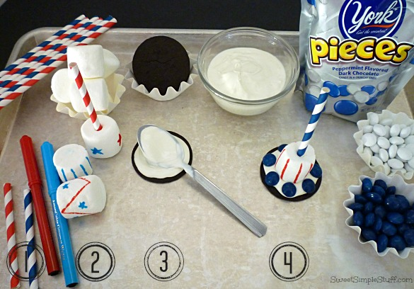Uncle Sam Hat Pop instructions - SweetSimpleStuff.com