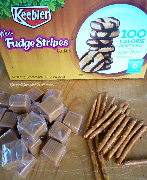 cookie caramel acorn supplies