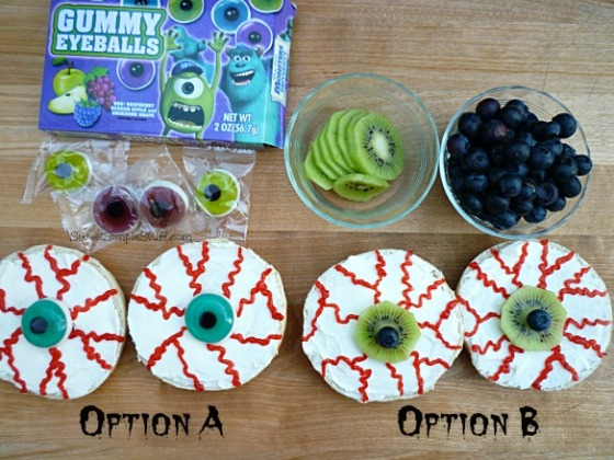 Eyeballs 2 ways - SweetSimpleStuff.com