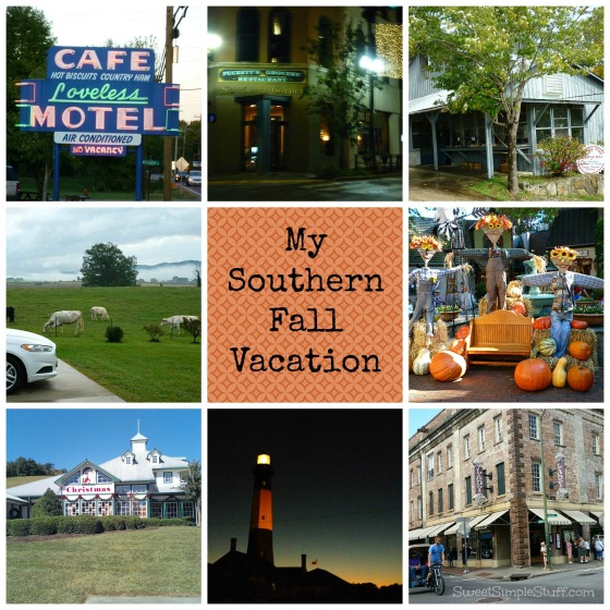 southern fall vacation