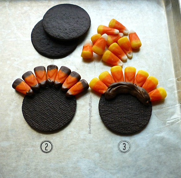 Turkey candy corn