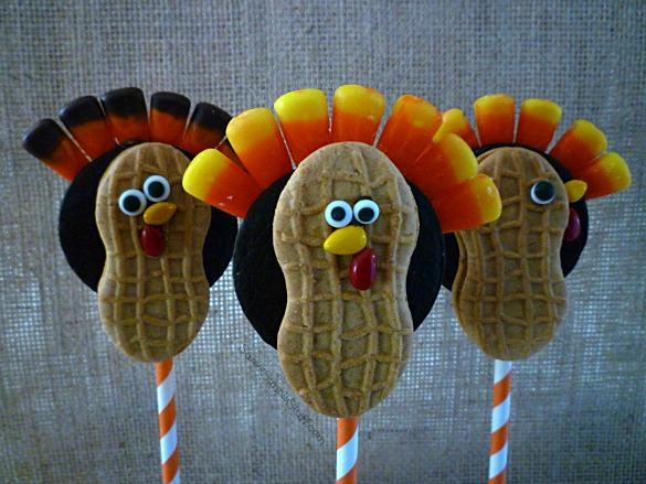 Turkey Nutter Butter Cookie