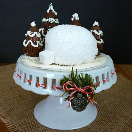 Hostess Snowball Igloo - SweetSimpleStuff.com