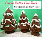Peanut Butter Cup Trees, the original and 2 new sizes - SweetSimpleStuff.com