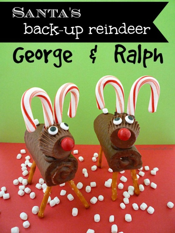 Reindeer Candy Cane Antlers - SweetSimpleStuff.com