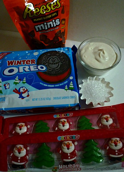 Winter Oreo Santa & tree