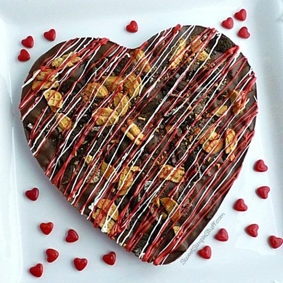 Cookie Lover Chocolate Bark - SweetSimpleStuff.com