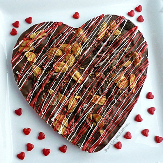 Cookie Lover Chocolate Bark - SweetSimpleStuff.com