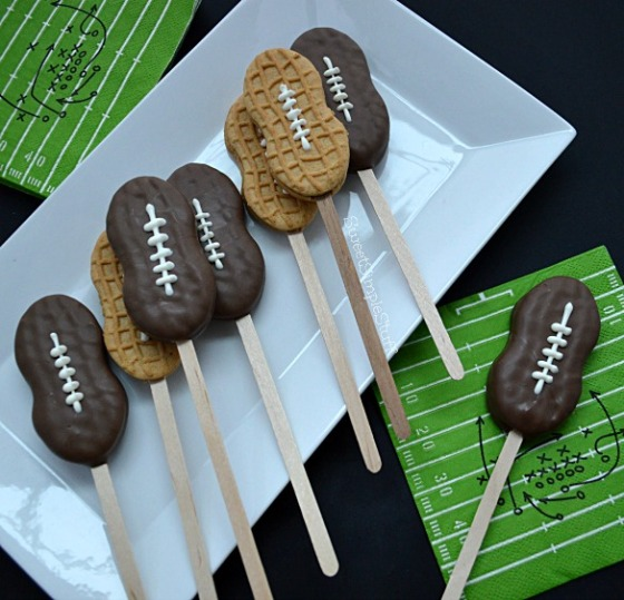 Deflated footballs - SweetSimpleStuff
