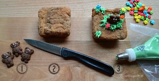 Ground Hog Cupcakes - SweetSimpleStuff