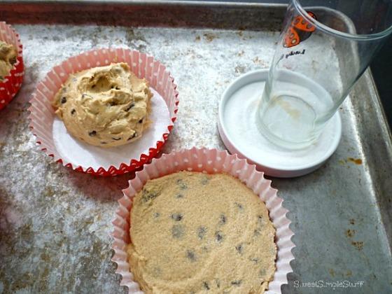 Jumbo Chocolate Chip Peanut Butter Cookies - SweetSimpleStuff